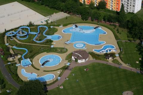Aquapark klasterec nad ohri