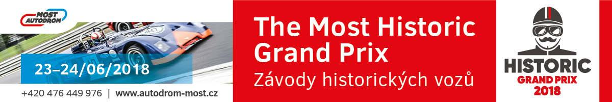 The Most Historic Grand Prix 23.-24.6.2018