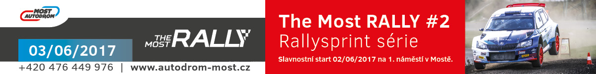 The Most RALLY #2 - Autodrom Most - 2017